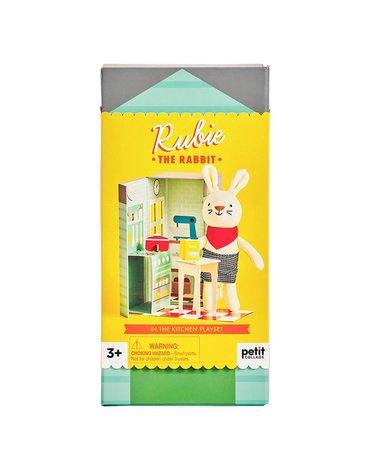 Petit Collage Przytulanka w Pudełku Królik