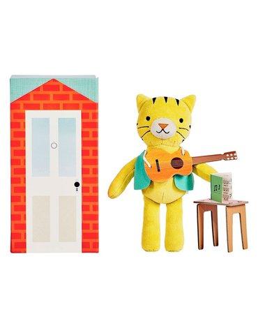 Petit Collage Przytulanka w Pudełku Tygrys