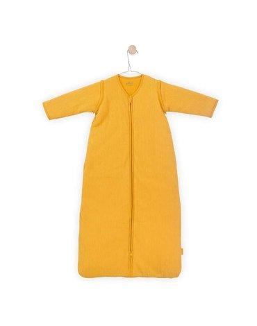 Jollein - Baby & Kids - Jollein - Śpiworek niemowlęcy całoroczny 4 pory roku z odpinanymi rękawami Rib OCHER 110 cm
