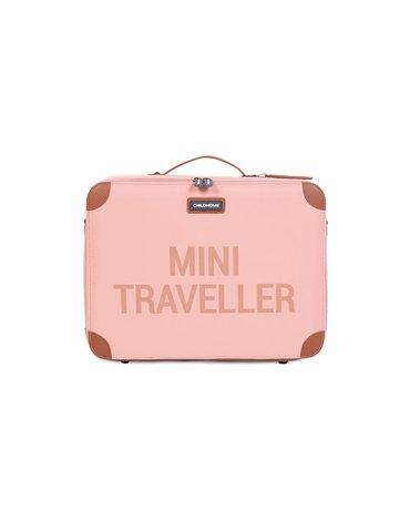 Childhome Walizka dziecięca Mini Traveller Różowa