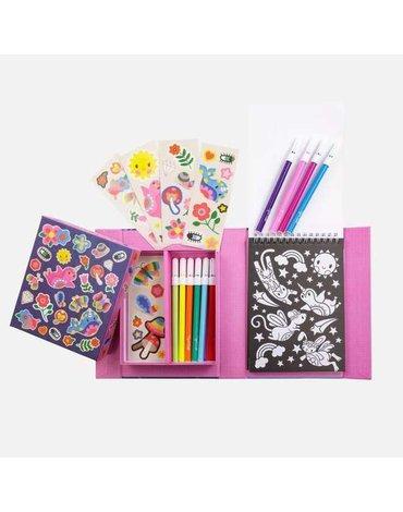Tiger Tribe® - Zestaw plastyczny do kolorowania: Magiczne Stworzenia