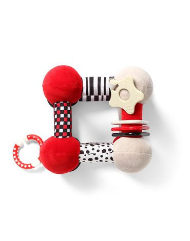 BABYONO - 782 Zabawka edukacyjna TINY YOGA CUBE C-MORE COLLECTION