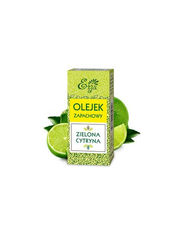 Etja- olejki - Etja, Kompozycja zapachowa, zielona cytryna, 10 ml