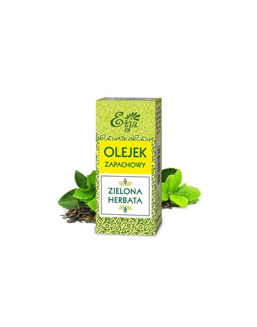 Etja- olejki - Etja, Kompozycja zapachowa, zielona herbata, 10 ml