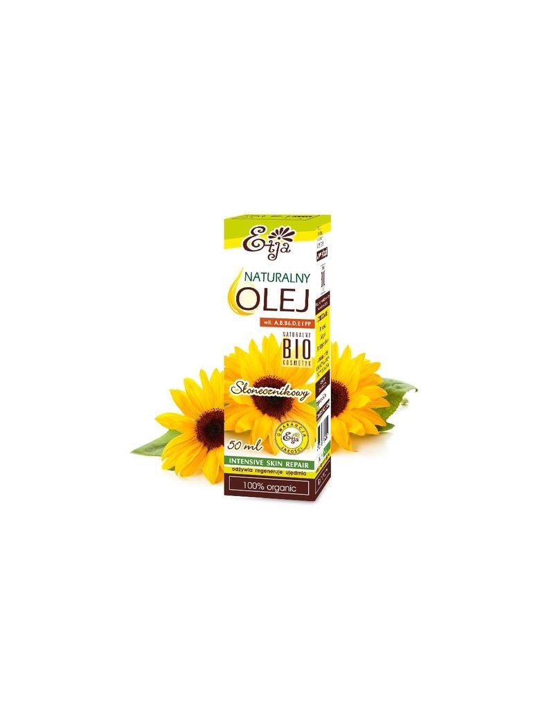 Etja- olejki - Etja, Olej Słonecznikowy BIO, 50 ml