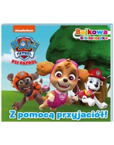 Media Service Zawada - Psi Patrol Bajkowa biblioteczka Z pomocą przyjaciół!
