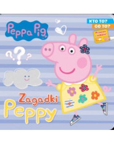 Media Service Zawada - Peppa Pig. Kto to? Co to? cz.1. Zagadki Peppy