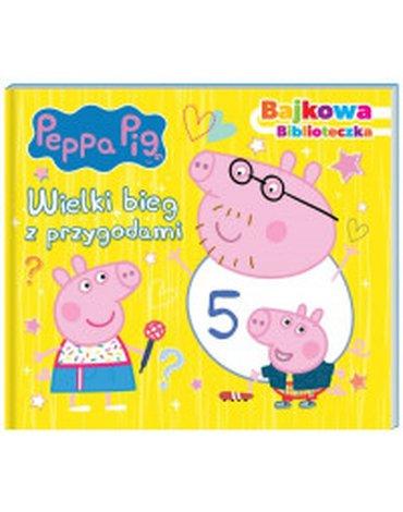 Media Service Zawada - Peppa Pig. Bajkowa biblioteczka. Wielki bieg z przygodami.