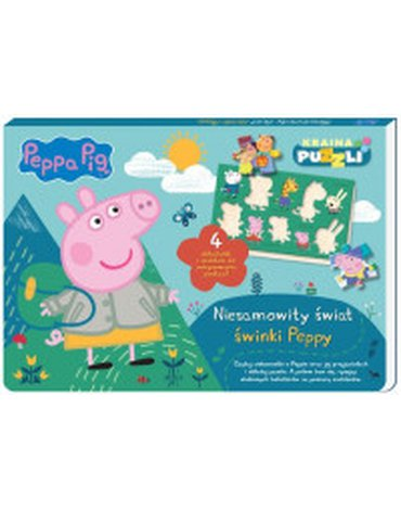 Media Service Zawada - Peppa Pig. Niesamowity świat świnki Peppy. Kraina puzzli