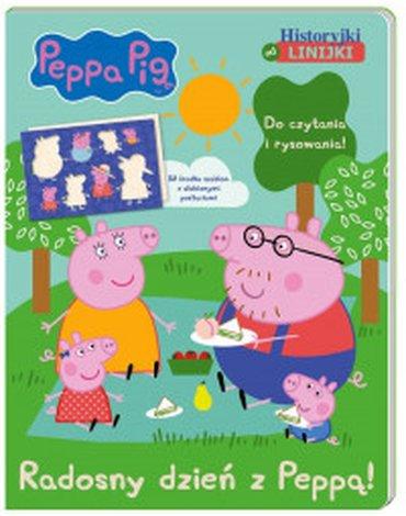 Media Service Zawada - Peppa pig. radosny dzień z peppą! Historyjki od linijki.