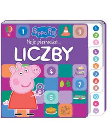 Media Service Zawada - Peppa Pig. Moje pierwsze słowa. Liczby