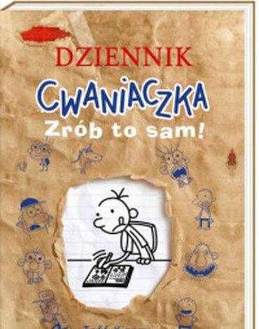 Nasza Księgarnia - Dziennik cwaniaczka. Zrób to sam!