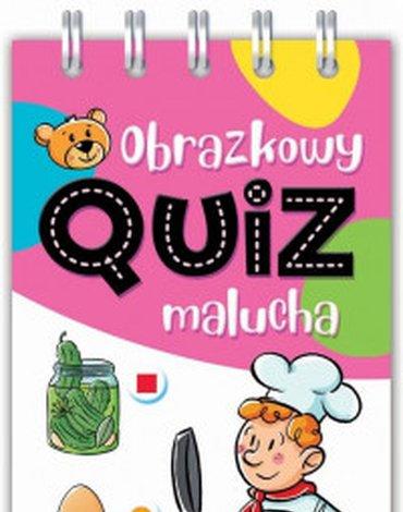 Aksjomat - Obrazkowy quiz malucha. Od 3 lat