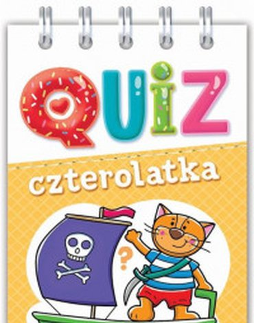 Aksjomat - Quiz czterolatka. Obrazkowe zadania dla bystrych..
