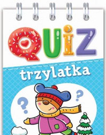 Aksjomat - Quiz trzylatka. Obrazkowe zadania dla bystrych..