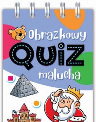 Aksjomat - Obrazkowy quiz malucha. Od 5 lat