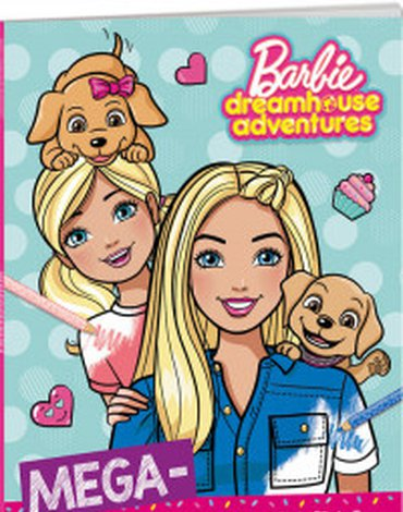 Ameet - Barbie Dreamhouse Adventures Megakolorowanka
