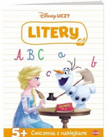 Ameet - Disney uczy. Kraina Lodu. Ćwiczenia litery
