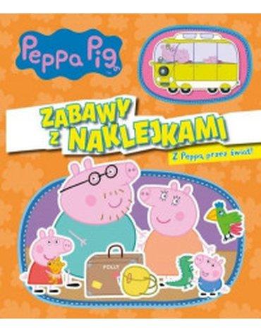Media Service Zawada - Świnka Peppa. Z Peppą przez świat!