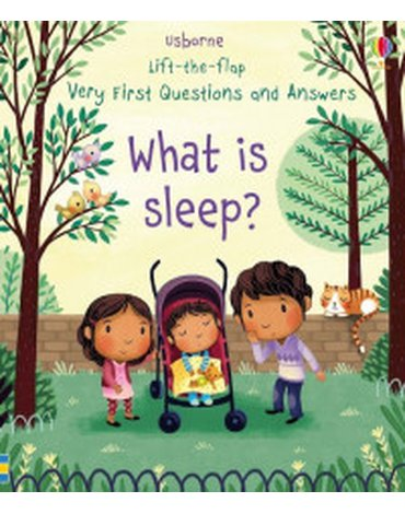 Usborne - Lift-the-flap Very First Questions and Answers What is sleep?