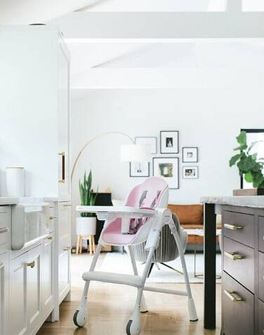 Krzesełko do karmienia RÓŻOWY (KOLEKCJA DELICIOUS) Cocoon™, ORIBEL