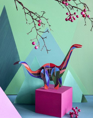 Dinozaur Diplodok, kolekcja Totem, Studio ROOF