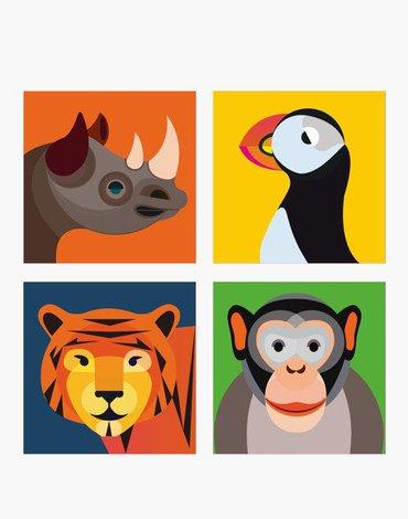 Nosorożec i Przyjaciele, Magnesy, Studio ROOF