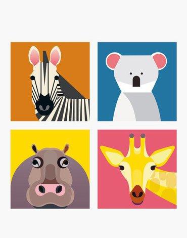 Zebra i Przyjaciele, Magnesy, Studio ROOF