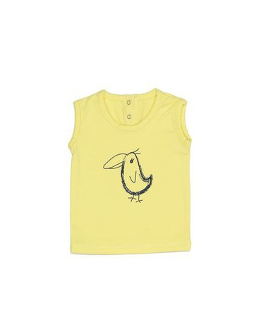 Koszulka bez rękawów ŻÓŁTY rozmiar 62 SnoozeBaby