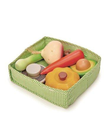 Skrzynka z warzywami, Tender Leaf Toys