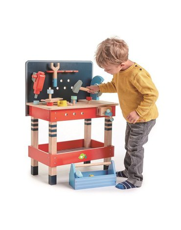 Drewniany warsztat, stolik, Tender Leaf Toys