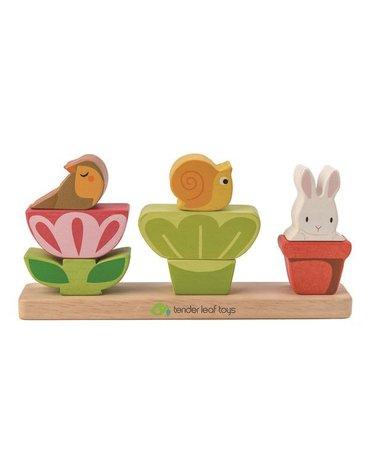 Drewniana układanka - Ogród, Tender Leaf Toys