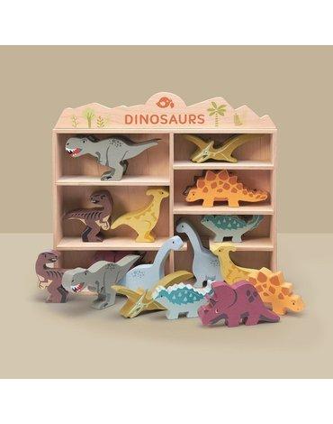 Drewniane figurki do zabawy - dinozaury, Tender Leaf Toys