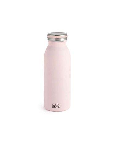 Lulabi - Butelka Termiczna ze Stali Nierdzewnej, Różowa, 0,45l