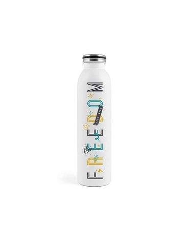 H&H Lifestyle - Butelka Termiczna ze Stali Nierdzewnej, Freedom, 0,75l