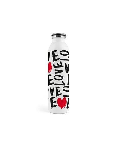 H&H Lifestyle - Butelka Termiczna ze Stali Nierdzewnej, Love, 0,75l