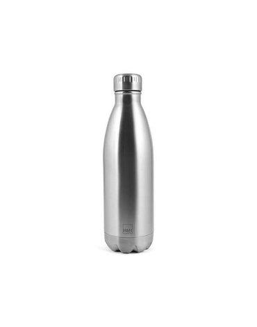 H&H Lifestyle - Butelka Termiczna ze Stali Nierdzewnej, Silver, 0,5l