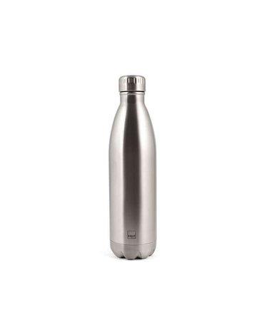 H&H Lifestyle - Butelka Termiczna ze Stali Nierdzewnej, Silver, 0,75l