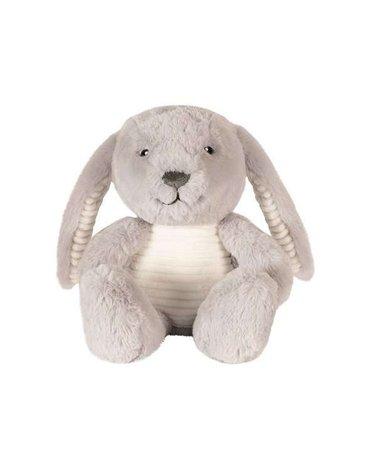 Flow Amsterdam - Uspokajający Króliczek Milo the Bunny, Popielaty, 0m+