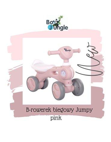 BoJungle - B-Rowerek biegowy jeździk BIKE JUMPY pink
