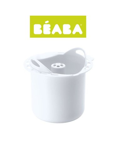 Beaba - Koszyczek do gotowania makaronu Babycook® / Babycook® Plus white