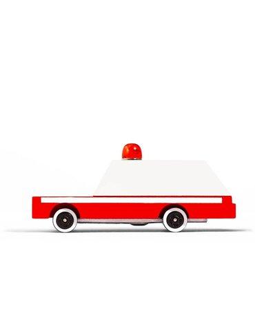 Candylab Samochód Drewniany Ambulans