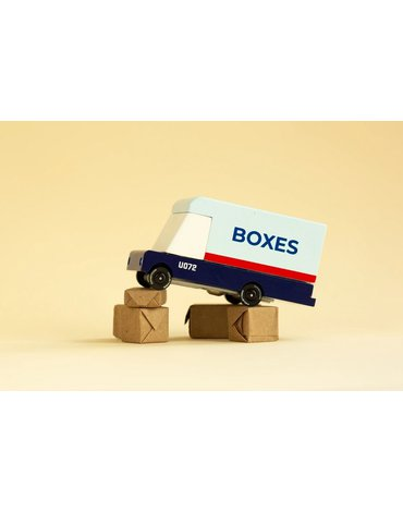 Candylab Samochód Drewniany Mail Van
