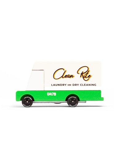 Candylab Samochód Drewniany Laundry Van