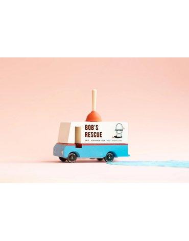 Candylab Samochód Drewniany Plumbing Van