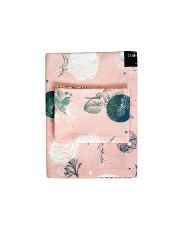 LullaLove, Bawełniana pościel Rose garden 100x135 cm