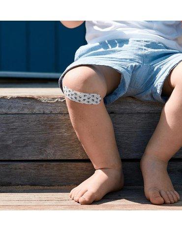 Patch, Naturalne plastry opatrunkowe dla dzieci, na otarcia i małe rany, z olejem kokosowym, KARTON, 3x25 szt.