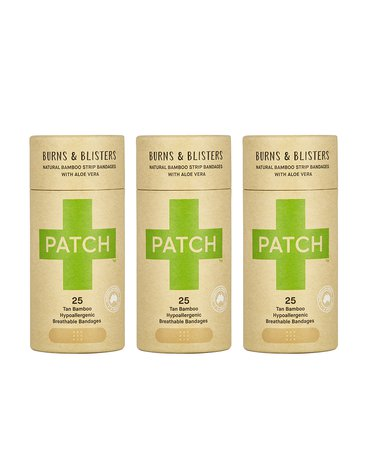 Patch, Naturalne plastry samoprzylepne z aloesem, KARTON, 3x25 szt.