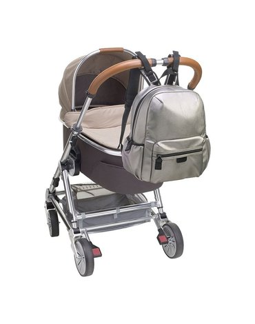 Babymel Plecak dla Mamy Luna Pewter Leathe