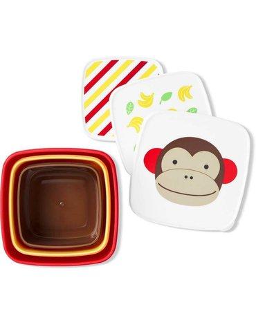 Skip Hop - Zestaw pudełek Zoo Małpa